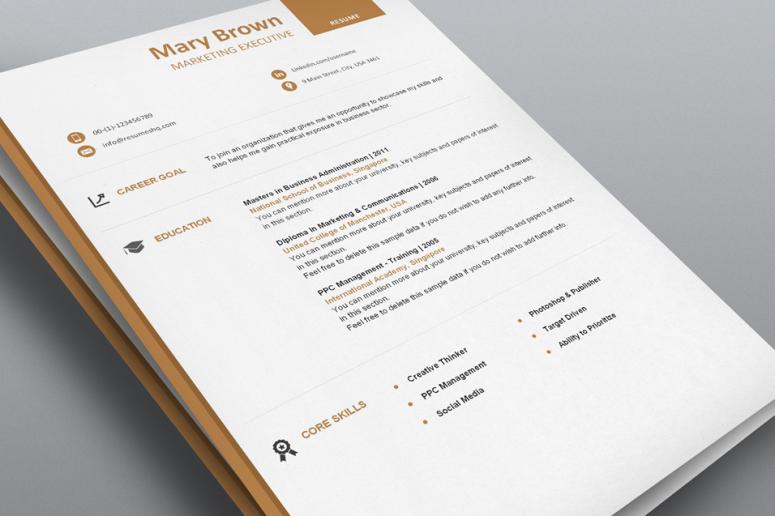 Executive - Designer Resume Template Pack - ResumesHQ.com
