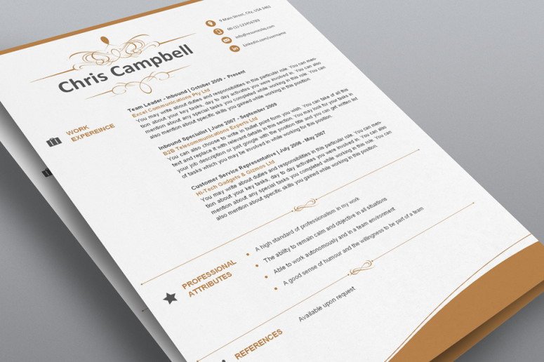 Luxurious - Designer Resume Template Pack - ResumesHQ.com